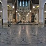 Jij-en-Ik labyrint in Grote Kerk, Den Haag 2010