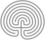 klassiek labyrint