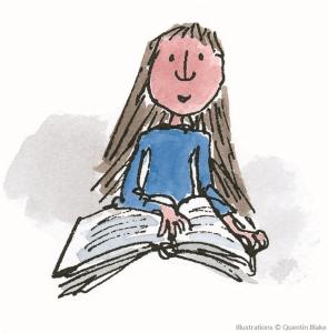 Matilda leest